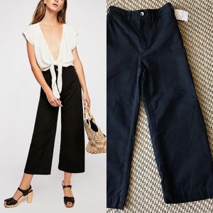 """Free People """"we the free"""" high rise wide pants 24"""